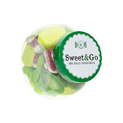 Bote Esferico Clasico Verde , mix gominolas verde - 2 unidades