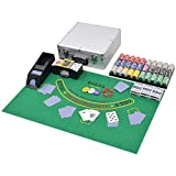 mewmewcat Set da Poker/Blackjack con 600 Chips Alluminio...