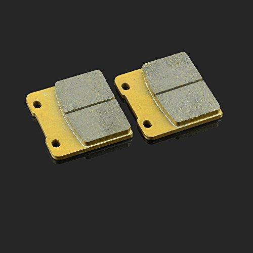Fast Pro 58 x 53.5 X 8.7 mm 1 Paire de Plaquettes de Frein Avant pour Suzuki GSX 250 R GSX 250 R RG 400 VS 600 95–97 GV 1400 1986 VL 1500 98–01