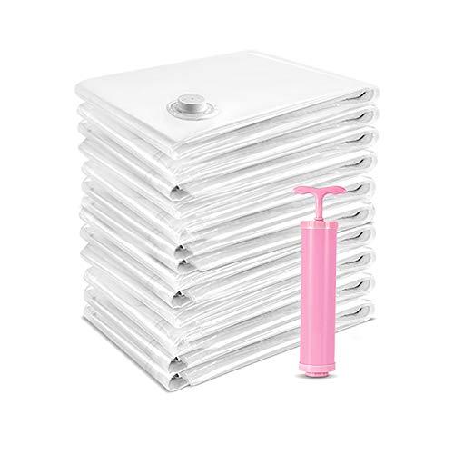SXET Diez Piezas Bolsa de clasificación para el hogar Almacenamiento de Bombeo Bolsa de compresión al vacío Bolsa de Almacenamiento Ropa edredón Ropa de Cama
