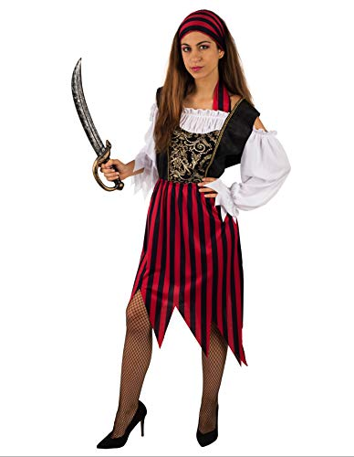 PARTY FIESTA Disfraz De Pirata Peligrosa para Mujer (XS)