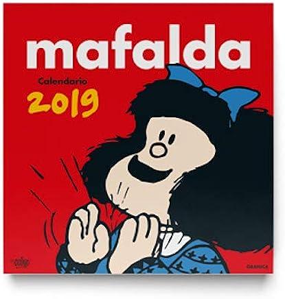 Mafalda 2019 Calendario de pared (Spanish Edition)