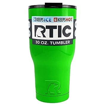 RTIC 30 oz Neon Green Tumbler Cup
