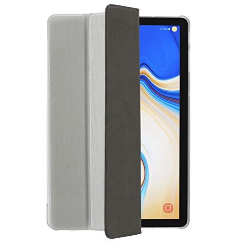 Hama Fold Clear Tablet Tasche für Samsung Galaxy Tab S4, Silber