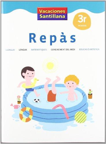 VACACIONES SANTILLANA 3 PRIMARIA REPAS - 9788484355366