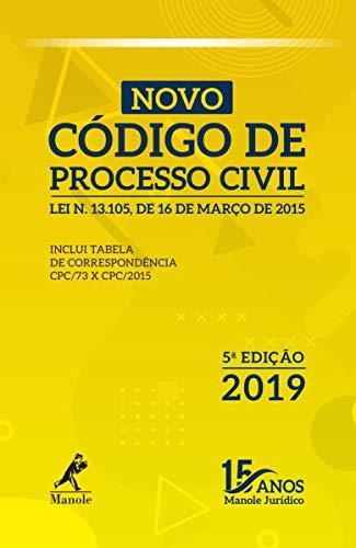 Novo Código de Processo Civil: Lei n.13.105, de 16 de março de 2015