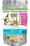 ZWERGNASE Bio-Kräuter Zahn-Verzauberer Pflegesnack für Zähne/Mundhygiene Kokos PUR 180g
