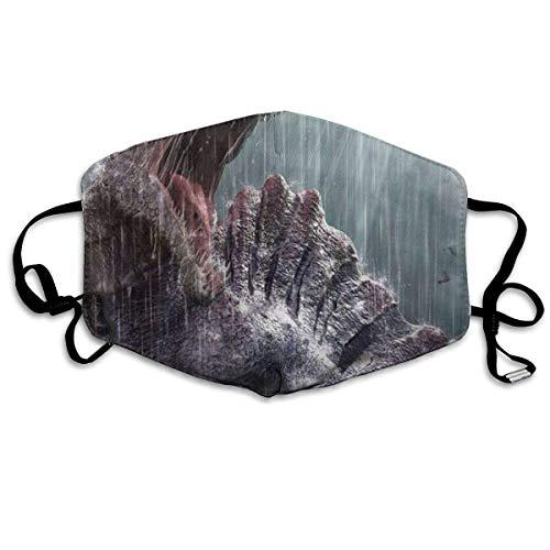 Preisvergleich Produktbild Masken, Masken für Erwachsene, Spinosaurus Coming Interest Washable and Reusable Cleaning Mask, For Allergens, Exhaust Gas, Running, Cycling, Outdoor Activities