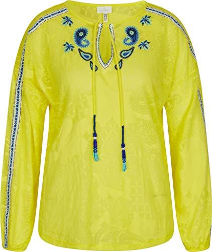 Sportalm Damen Bluse Größe 44 EU Gelb (gelb)