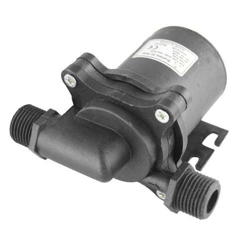 Smarstar DC50F-24150S Pompa da giardino per olio, pompa dell'acqua brushless, centrifuga a scomparsa, DC 24 V, 317GPH 49 ft