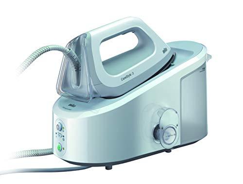 Braun CareStyle 3 IS 3041/1 Dampfbügelstation (2.400 W, 5 bar, Dampfstoß: 310 g/min, Eco-Funktion) weiß