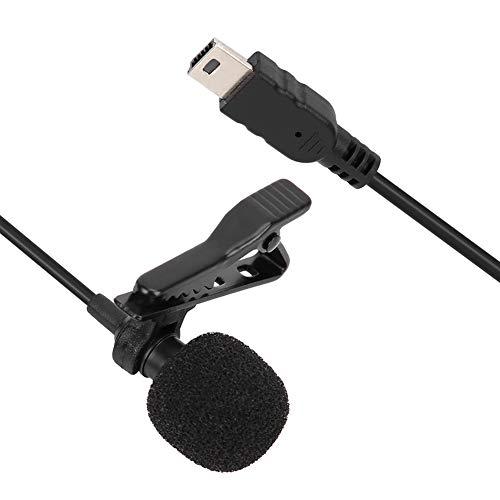 Mini microphone externe stéréo USB Micro professionnel avec prise en charge des clips Plug and Play pour GoPro Hero 3/3+/4, pour l'enregistrement audio et vidéo