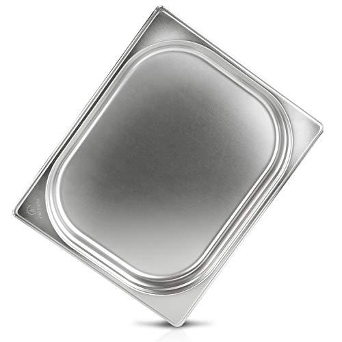 jokobela GN Behälter :: ungelocht :: geeignet für Gaggenau, Miele, Siemens Dampfgarer (Edelstahl, Spülmaschinentauglich, Gastronorm 1/2, 40mm tief)