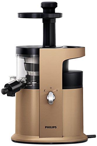 Philips HR1883/31 Estrattore di succo a spremitura lenta, con tecnologia Gentle Squeezing per succhi ricchi di vitamine. Funzione sorbetto - Avance Collection