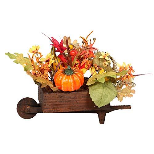 CUHAWUDBA KüNstliche KüRbisse Ahornblatt Tabelle Haus Dekor Haus Prop Herbst Herbst Ernte das Erntedankfest Dekor