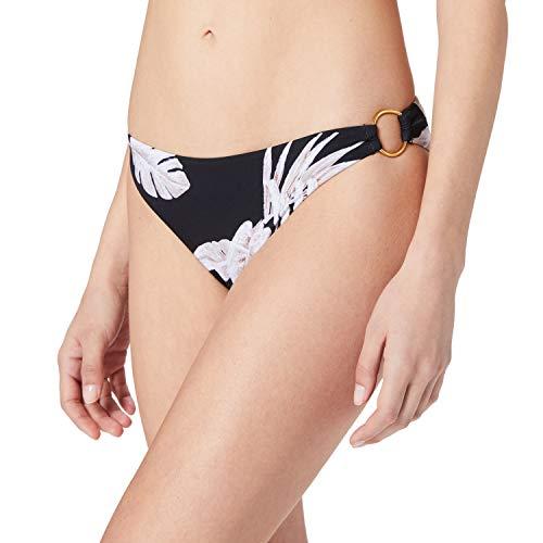 Banana Moon VAIVA Leaf Bragas de Bikini, Negro, 42 para Mujer