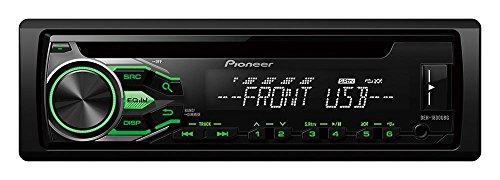 Pioneer DEH-1800UBG Autoradio mit RDS-Tuner/CD/USB/AUX-In