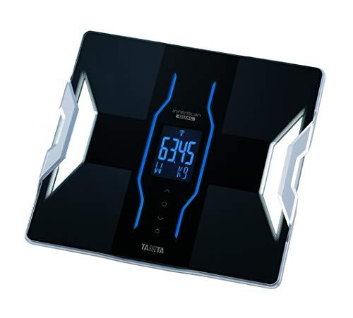 TANITA RD-953 Körperanalyse-Waage, Bluetooth, medizinischer Technologie, über 10 Messwerte, Schwarz