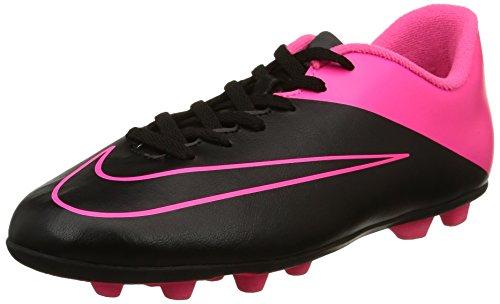 Nike Jr Mercurial Vortex II FG-R - para Hombre, Black/Black-hypr Pink-hypr pnk, Talla 38