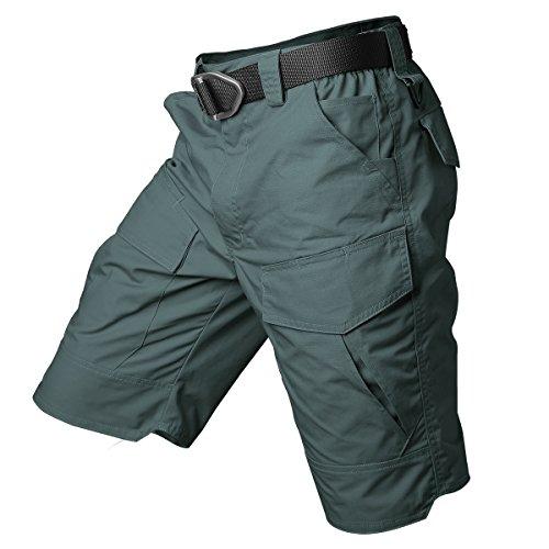 ReFire Gear Men's Urban Tactical Military EDC Cargo Shorts Rip Stop Cotton Outdoor Camo Shorts