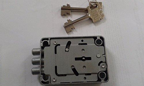 Tresorschloss MAUER 73042 Tricontus .2 Schlüssel 65mm