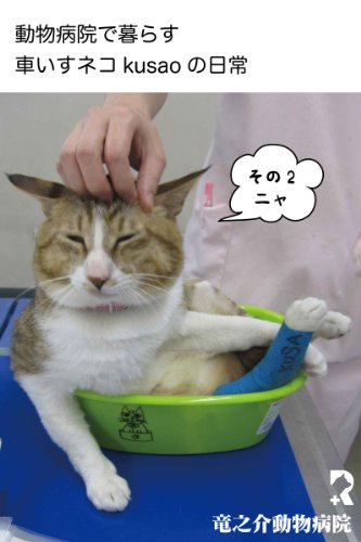 Every day of the wheelchair cat kusao which lives in an animal hospital2 kusao blog (Japanese Edition)