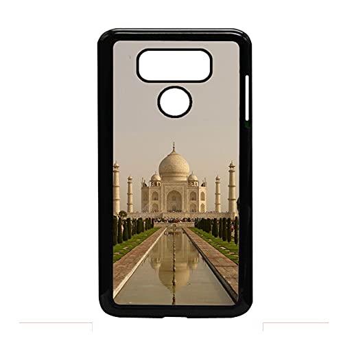 Caja Fuerte del Teléfono Compatible con LG G6 Impresión Taj Mahal Obvio para Niños