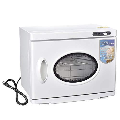 AW 2in1 Towel Warmer Hot Cabinet 26L Ultraviolet UV Sterilizer Tool Spa Hair Nail Salon Manicure Beauty Manicure Machine