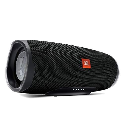 JBL CHARGE4 Bluetoothスピーカー IPX7防水/USB Type-C充電/パッシブラジエーター搭載 ブラック JBLCHARGE4BLK【国内正規品/メーカー1年保証付き】