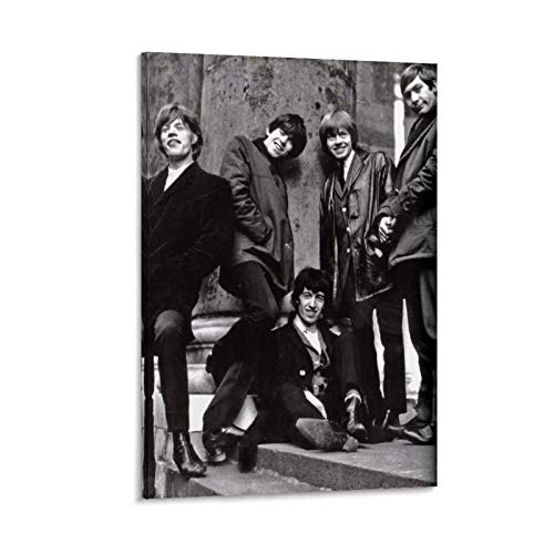 Rolling Stones Printerest Poster Decorative Painting Canvas Wall Art Living Room Posters Bedroom Painting 12x18inch(30x45cm)