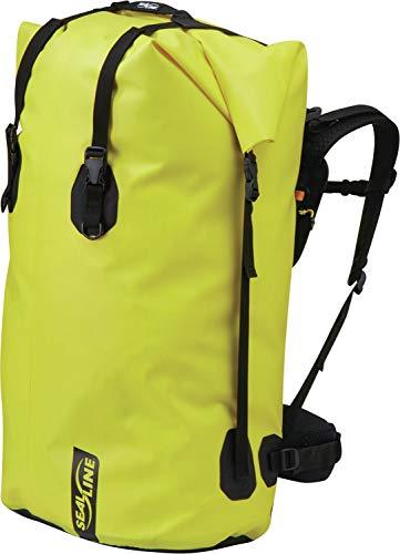 SealLine Black Canyon Wasserdichter Rucksack, Unisex, wasserdichter Rucksack, 040818109151, gelb, 115-Liter