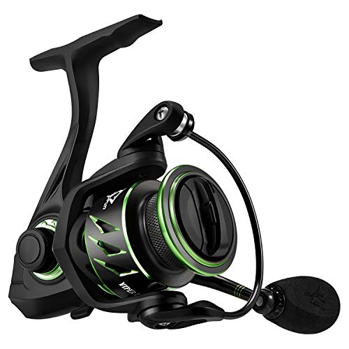 Piscifun Viper II Spinning Reel - 6.2:1 High Speed Fishing Reel, 10+1BB, Lightweight Ultra Smooth Tournament Spin Reels(1000 Series
