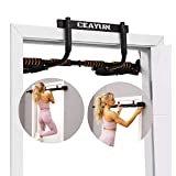 CEAYUN Pull up Bar for Doorway, Portable Pullup Chin up Bar Home, No Screws Multifunctional Dip bar Fitness, Door Exercise Equipment Body Gym System Trainer (with Protective Sponge)