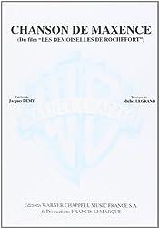 Legrand Michel Chanson De Maxence Voice & Piano Book