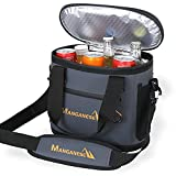 MANGANESE kühltasche Picknicktasche Lunchtasche Mittagessen Tasche Thermotasche Isoliertasche für Lebensmitteltransport Abkühlzeit bis zu 2 Tagen (Navy blau, 30L)
