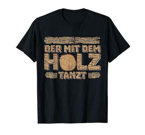 Zimmermann Bekleidung   Spruch Tischler & Schreiner Geschenk T-Shirt