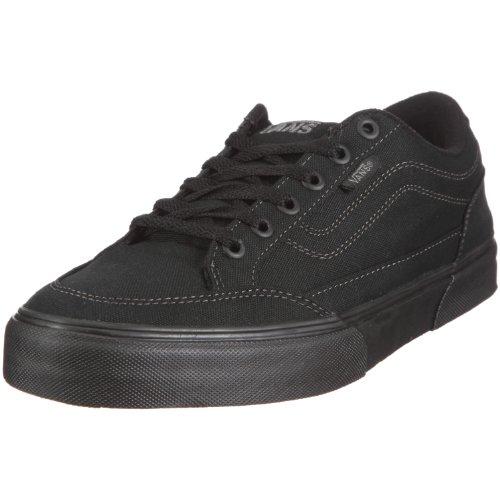 Vans Bearcat Canvas Black/Black Men's Classic Skate Shoes Size 10