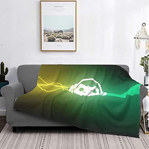 Gua Tan Mantas para videojuegos, manta de felpa ultra suave, manta de forro polar para sofá cama y sala de estar de 152 x 122 cm
