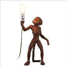 Modeen American Retro Monkey Table lamp Creative Personality Bedside lamp Living Room Bedroom Entrance Corridor Restaurant...