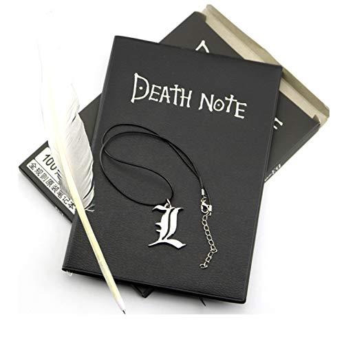 Death Note Cuaderno de cosplay y bolígrafo de plumas Diario Anime Coleccionables Cuaderno de notas Libro de recortes