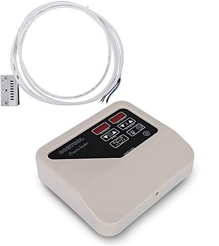 Saunasteuerung Sauna Digital Controller LED-Display für Saunaofen, 8 + 4 Modus, Normale Heizung