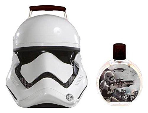 Air Val Star Wars Geschenk-Set, 1er Pack (Eau de Toilette Parfum 100 ml im 3D-Metallkoffer im Stormtrooper-Design)
