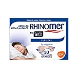 Rhinomer by Breathe Right - Tiras nasales clásicas para la