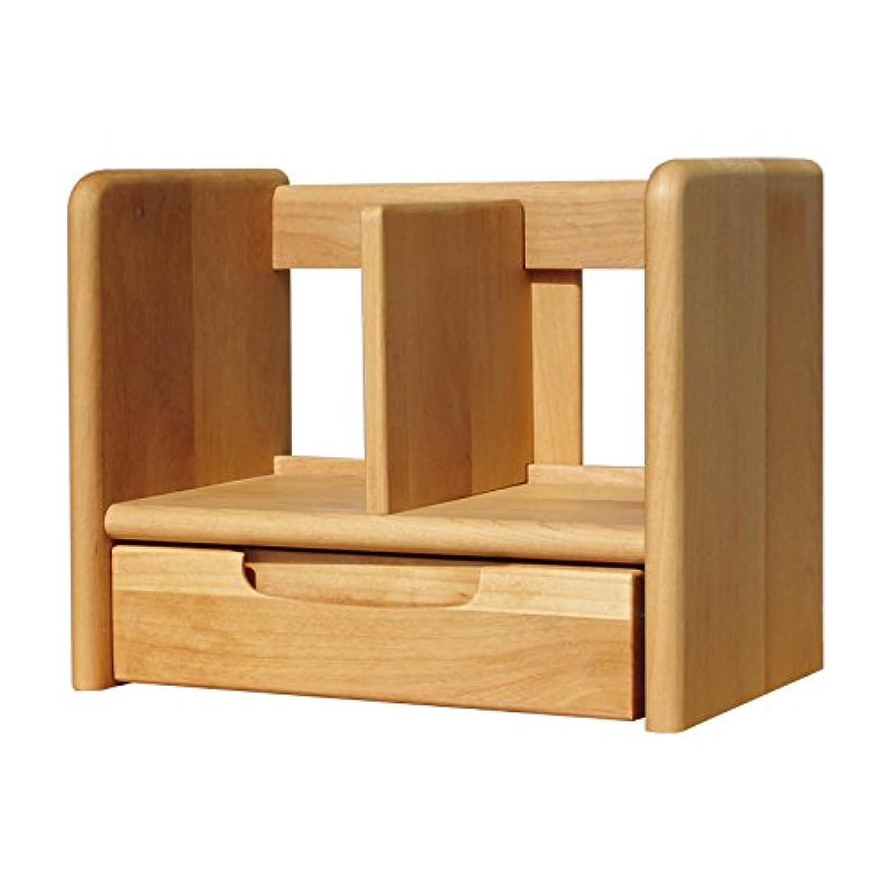 懺悔リンクスパイラルISSEIKI ブックスタンド 幅35 ナチュラル 木製 ERIS KIDS 35 BOOK STAND (NA)