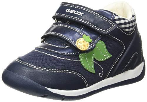Geox Baby Mädchen B Each Girl A Sneaker, Blau (Navy C4002), 24 EU