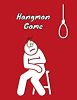 """Hangman Game: Hangman Puzzles for kids, Hangman Game Book, Game Playing Book, Perfect Game gift for Kids and Adults , 100 Pages, 8.5"""" x 11"""" Inch"""
