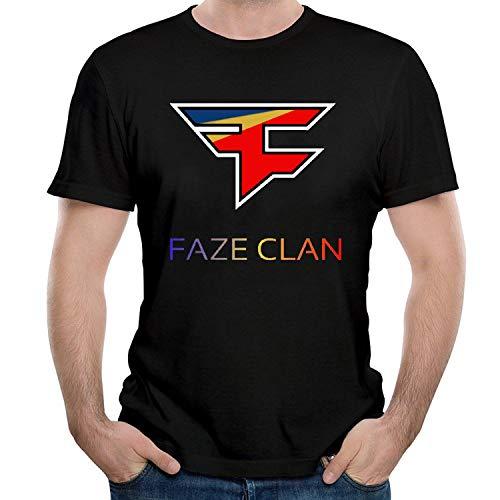 HAIZHENY Hombre Faze Clan Team Logo Cotton Camiseta/T-Shirt tee Small