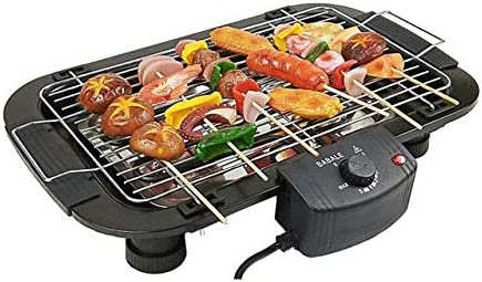 Limited time sale KRLZA sklzj Portable Smoke-Free Electric Grill Cheap mail order sales Home Barbecue Ele