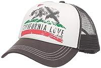 Billabong Women's California Love Pitstop Adjustable Trucker Hat, Charcoal Grey, One