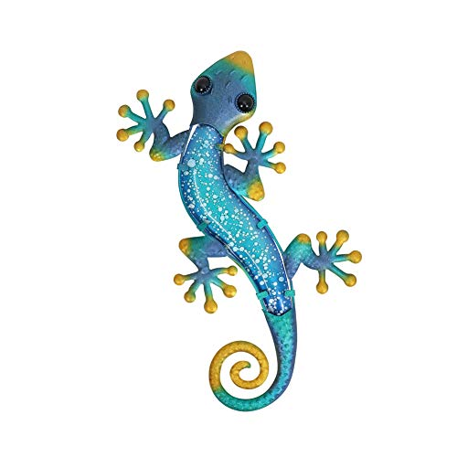 Liffy Craft Metal Lizard Home Decoration Artwork, Explosion Pattern Spots...